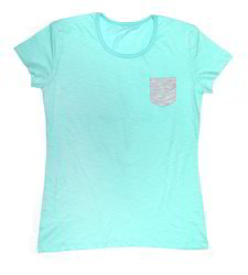 Cute Level Ladies Round Neck Sleeve with Pocket