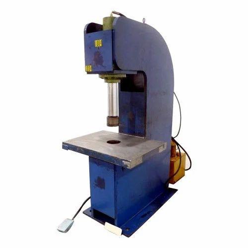 C Frame Hydraulic Power Press, Hydraulic Power Press - Divya ...