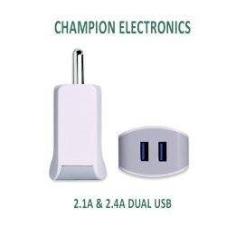 2.1Amp Dual USB Ultrasonic Mobile Charger