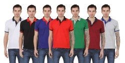 Plain Polo Neck Mens Nirmal T-Shirts