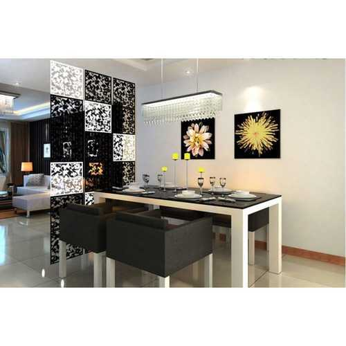 Modern Acrylic Room Divider Room Separators Temporary Partition