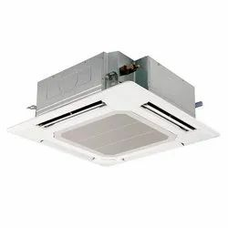 Ceiling Mounted 3 Star Cassette AC, Capacity: 1 Ton