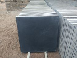 Black Natural Limestone Flooring Tile