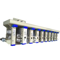 4 Color Rotogravure Printing Making Machine