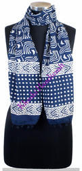 Indigo Blue Cotton Stoles