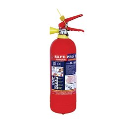 Mild Steel SPF-2ABC Safe Pro Fire Extinguisher Cylinder, Capacity: 2kg