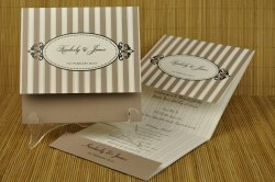 Folding Marriage Card