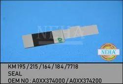 KM 195 / 215 / 164 / 184 / 7718 SEAL OEM NO A0XX374000 / A0XX374200