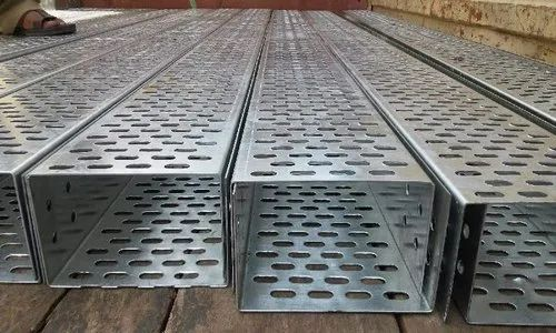 Galvanised Steel Perforated Cable Tray