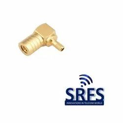 SMB Female Right Angle Connector For Rg 174, Rg 316