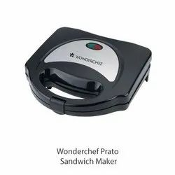Non-Stick Wonderchef Prato Sandwich Maker, For Commercial