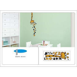 Giraffe Wall Design Graphics