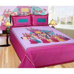 Rajasthani Print Cotton Bed Sheet