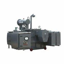 Bharti Three Phase Mild Steel  OLTC Distribution Transformer