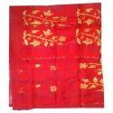 Ladies Red Cotton Saree