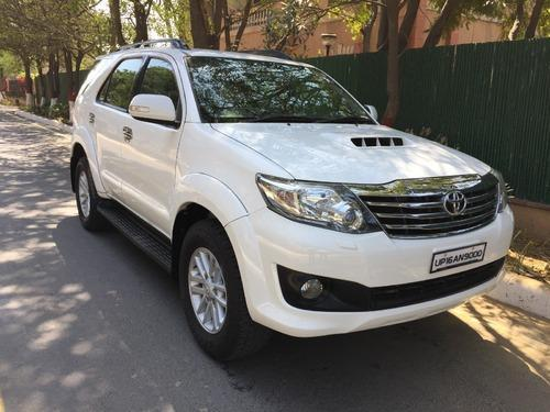 Super White Toyota Fortuner 4x2 Manual Car Rs 1590000 Piece Id
