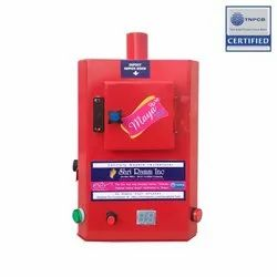 Sanitary Napkin Incinerator With Removable Ash Tray