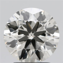 2.03ct Lab Grown Diamond CVD J VS1 Round Brilliant Cut IGI Certified Stone