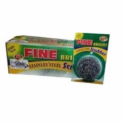 Fine Bright Stainless Steel Scrubber