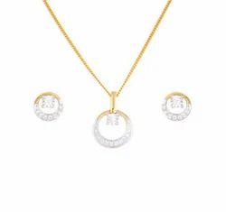 Tanishq Diamond Pendants