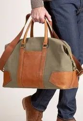 Crazy Engineers Leather Duffle Bags, For Travel