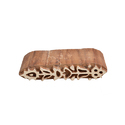 Floral Wooden Henna Print Block