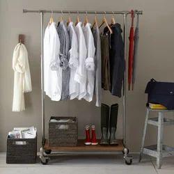Steel Cloth Rack Display Counter