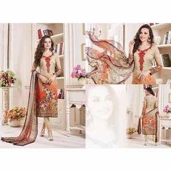 Print Ladies Dress