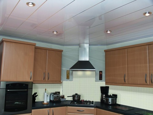 Aluminium Ceiling Tile - Clip- In Aluminium Kitchen ...