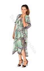 Multicolor Printed Kimonos