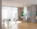 House Glass Partition Door