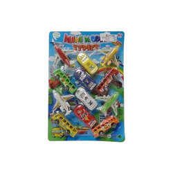 12 Pieces Vehicle Set for Kids Playing