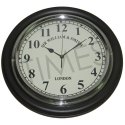 Times Creation Black 16 Inch Antique Wall Clock, Model No.: Tcil-78345, Packaging Type: Corrugated Box