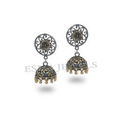 Trendy Two Tone Jhumka