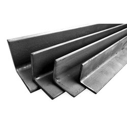L Shaped Mild Steel Hot Rolled Angle, Thickness: 15 Mm