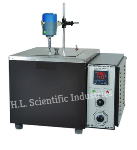 Physilab Rectangular Oil Bath (High Temperature with Stirrer), For Laboratory