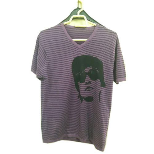 Cotton Printed Mens T Shirt