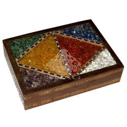 Gems Stone Jewellery Box