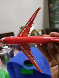 Plastic Aeroplane Toy