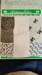 PC 58-60 Printed Fabrics, For Garments, GSM: 100-150