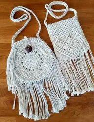 Macrame Designing Bag