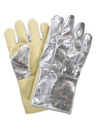 Aluminised Kelvar Hand Gloves
