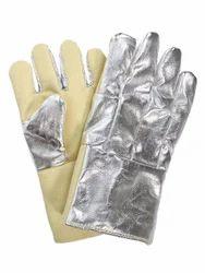 Aluminised Kelvar Hand Gloves