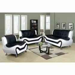 Wooden Modern Fabric Sofa Set,  Suitable Room: Living Room