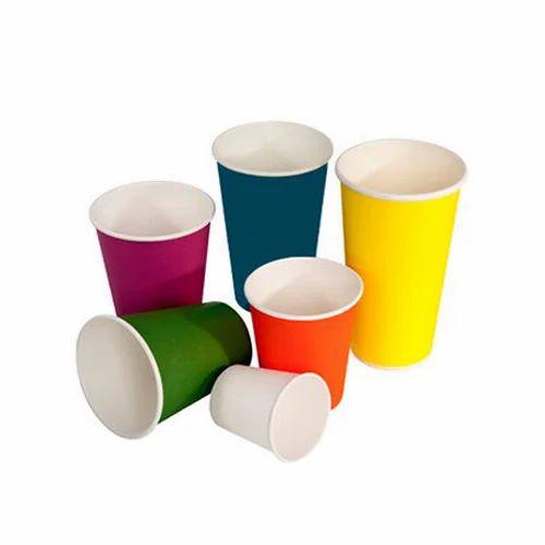Aimson Printed Paper Juice Glass