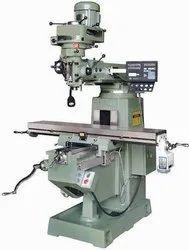 Cast Iron Turret Milling Machine, Automation Grade: Automatic