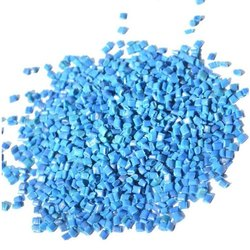 Blue Plastic Granules, Packaging Size: 25 Kg