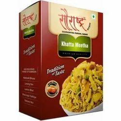 Saurashtra Farsan Sweet Sour Khatta Meetha Mixture Namkeen, Packaging Size: 180 Grams