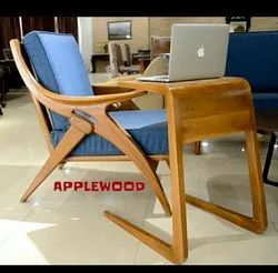 Applewood Wooden Relaxing Chairs, For Home, Office