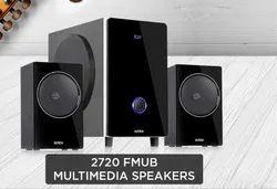 Black Intex 2720 FMUB Multimedia Speakers